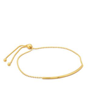 "10"" Midas Altro Slider Bar Bracelet 1.88g"