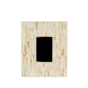 Mother of Pearl Collection - Large Cream Mother of pearl Inlay Photo Frame