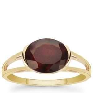 1.65ct Ethiopian Midnight Opal 9K Gold Ring