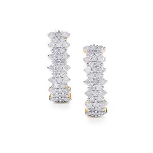 2ct Diamond 10K Gold Tomas Rae Earrings