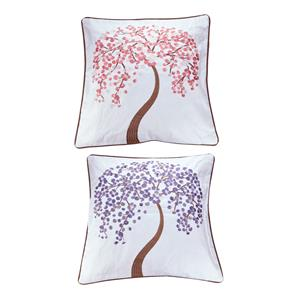 Beyond Words Collection - Tree of Life Gemstone Cushion Cover ATGW 14cts