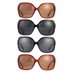 Studded Lens Gemstone Sunglasses with UV400 lenses