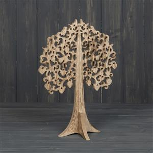Natural Wooden Tree Decoration 30cm
