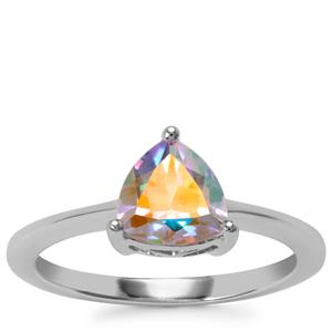 Mercury Mystic Topaz Ring in Sterling Silver 1.37cts