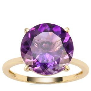 Moroccan Amethyst Ring in 9K Gold 5.30cts