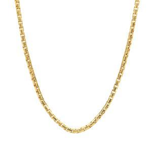 "24"" Midas Tempo Diamond Cut Round Box Slider Chain 3.38g"