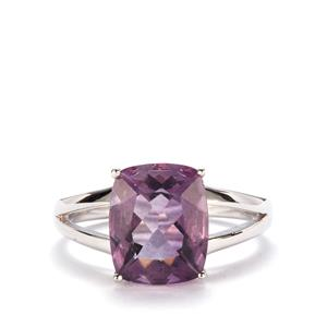 Blueberry Fluorite Ring in Sterling Silver 4.54cts