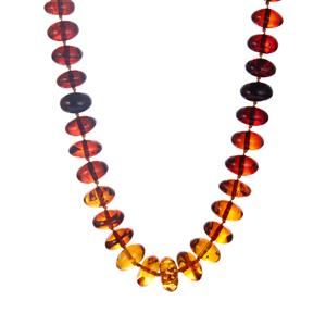 Baltic Cognac, Cherry & Champagne Amber Necklace