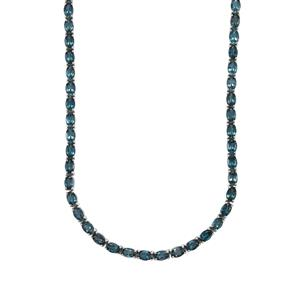 36.59ct Marambaia London Blue Topaz Sterling Silver Necklace