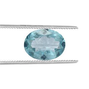 Madagascan Blue Apatite GC loose stone  0.90cts