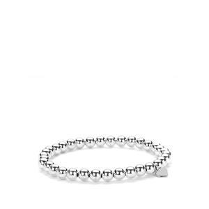 Sterling Silver Altro Elasticated Bracelet