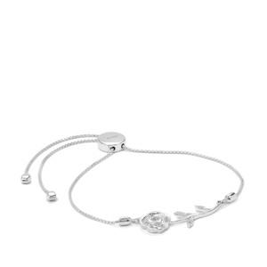 0.07ct Ratanakiri Zircon Sterling Silver Slider Bracelet