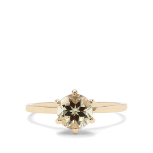 1.44ct Csarite® 9K Gold Ring