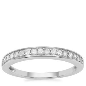 Diamond Ring in 9K White Gold 0.25ct