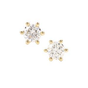 Diamond Earrings in 18K Gold 0.50ct
