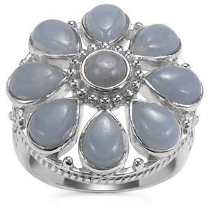 Angelite Ring in Sterling Silver 7.79cts