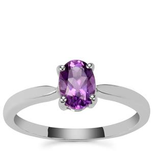 Moroccan Amethyst Ring in Sterling Silver 0.71ct