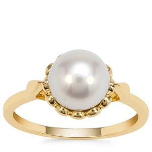 South Sea Cultured Pearl Ring 9K Gold (8mm)