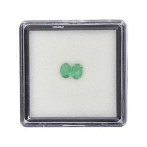 Colombian Emerald Gem Box  0.3ct