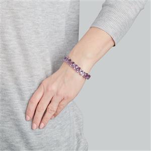 Bahia Amethyst Bracelet in Sterling Silver 47.60cts