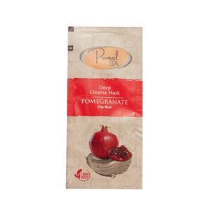 Natural Pomegranate Clay Face Mask Singles