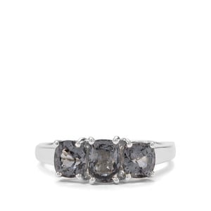 2.34ct Mogok Silver Spinel Sterling Silver Ring