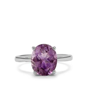 3.31ct Moroccan Amethyst Sterling Silver Ring