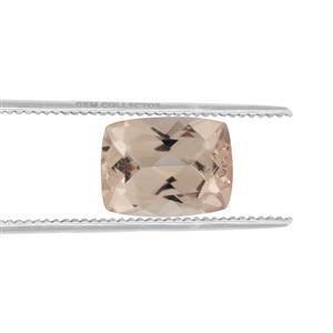 Alto Ligonha Morganite GC loose stone  1.20cts