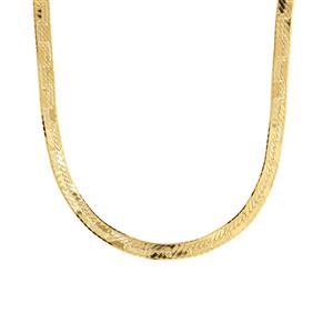 "18"" Midas Dettaglio Herringbone Chain 4.26g"