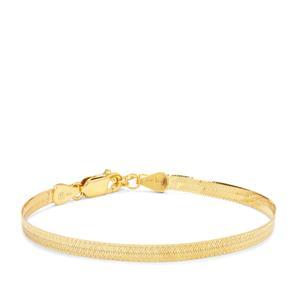 "7"" MIidas Altro Herringbone Bracelet 4.16g"