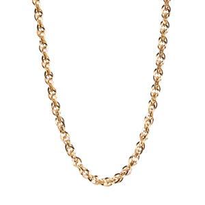 "18"" 9K Gold Classico Diamond Cut Prince of Wales Chain 3.67g"