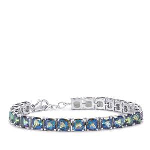 Mystic Topaz Bracelet in Sterling Silver 28.06cts