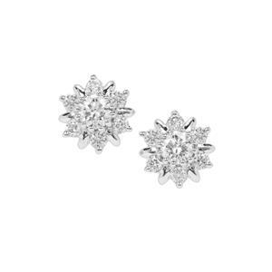 Diamond Earrings in Platinum 950 0.51ct