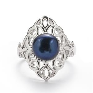 Kaori Freshwater Cultured Pearl Sterling Silver Ring