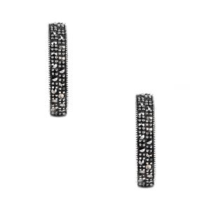 Natural Marcasite Jewels of Valais Earrings in Sterling Silver 0.99ct