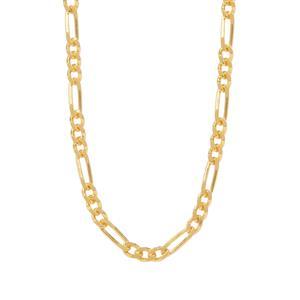 "26"" Midas Couture Diamond Cut Figaro Chain 2.71g"