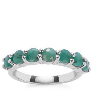 Sakota Emerald Ring in Sterling Silver 2.95cts