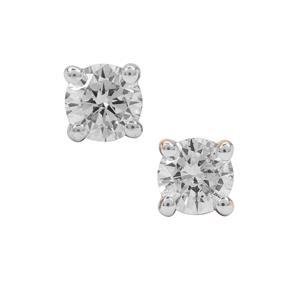SI Diamond Earrings in 18K Gold 0.48ct