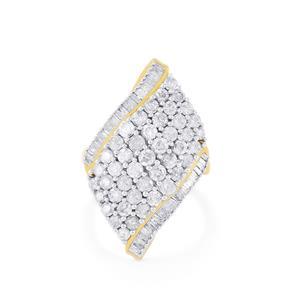 3ct Diamond Midas Ring