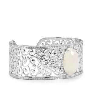 15.83ct Rainbow Moonstone Sterling Silver Cuffs