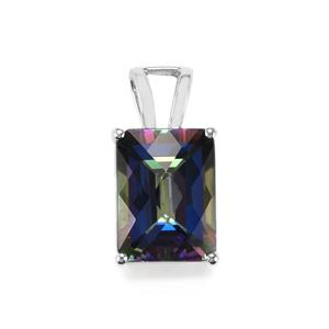 Mystic Topaz Pendant in Sterling Silver 13.39cts