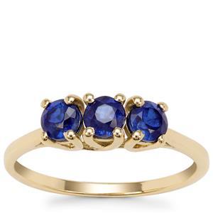 Nilamani Ring in 9K Gold 1.10cts