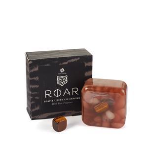 Mens Soap - Roar Fragrance with Tigers Eye Gemstone ATGW 35cts