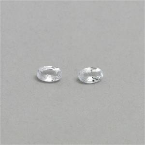Ceylon White Sapphire Loose stone  0.61ct