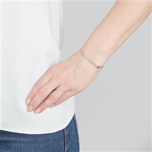 Diamond Bracelet in Sterling Silver 0.55ct