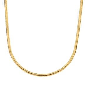 """24"""" Sterling Silver Tempo Oval Snake Chain 3.52g"""