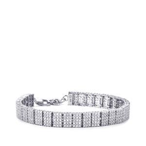 10.58ct Ratanakiri Zircon Sterling Silver Bracelet