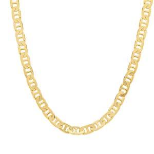 "18"" Midas Tempo Diamond Cut Fancy Mariner Chain 4.28g"