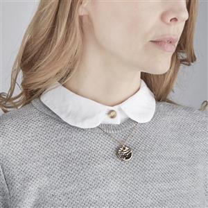 Orissa Iolite Pendant Necklace in Vermeil 0.10cts