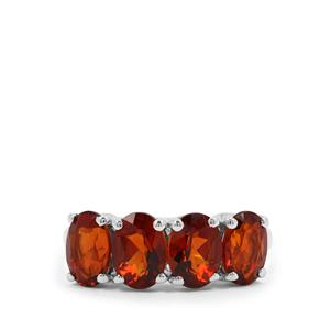 Madeira Citrine Ring in Sterling Silver 2.82cts